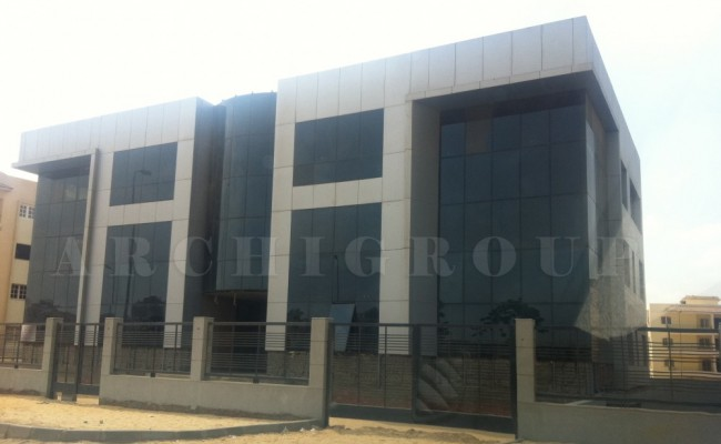 Adham Odapacha office building fifith compound-1500M2-2010