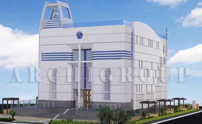New cairo evangelican church -1200m2- 2014 (1)