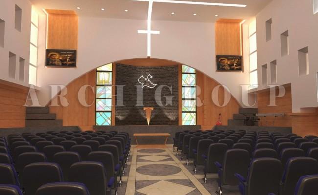 New cairo evangelican church -1200m2- 2014 (2)