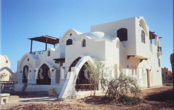 Villa Dr Nabil Khoury in Gouna