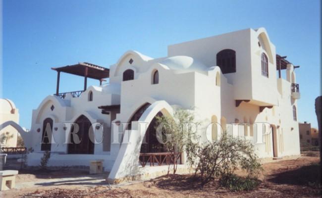 Villa Dr Nabil Khoury in Gouna-450M2-2000