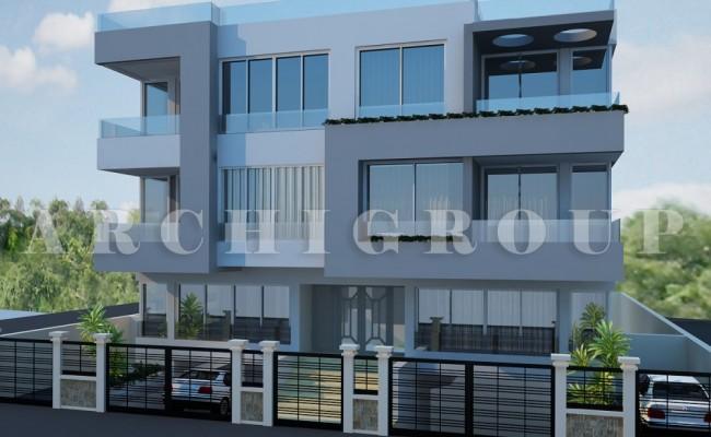 Villa Mr Ehab Samir in fifith compound-2000m2-2011