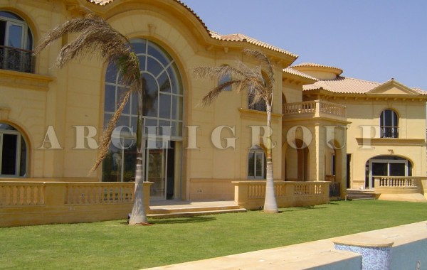 Villa Mr Nader Adeeb in Katameya Heights