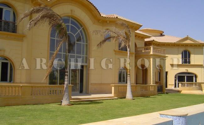 Villa Mr Nader Adeeb in Katameya heights-2400m2-2005