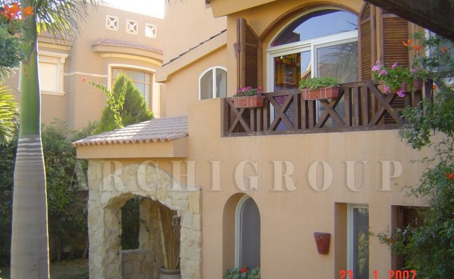 Villa Mr Sherif Sedhom in Arbella -600m2-2005