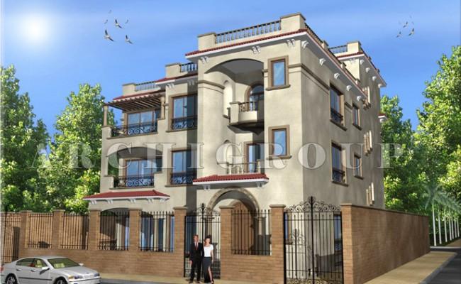 Villa Mr hazem Elhadad in fifith compound -1000m2-2006 (3)