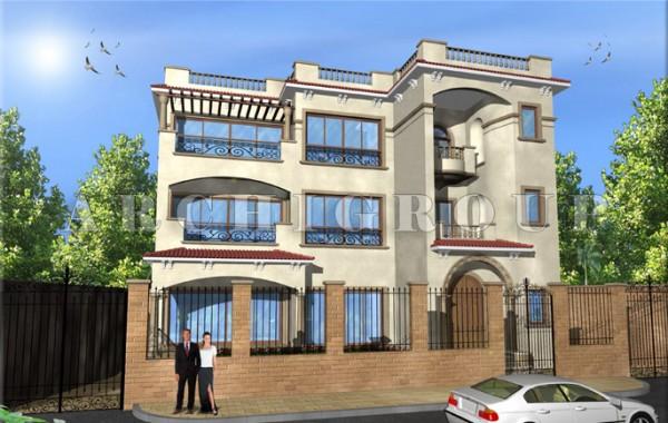 Villa Mr hazem Elhadad in Fifith Compound