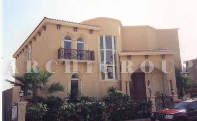 Villa  Mrs Soha El Wekil  – Katameya Heights-500m2-2000 (5)