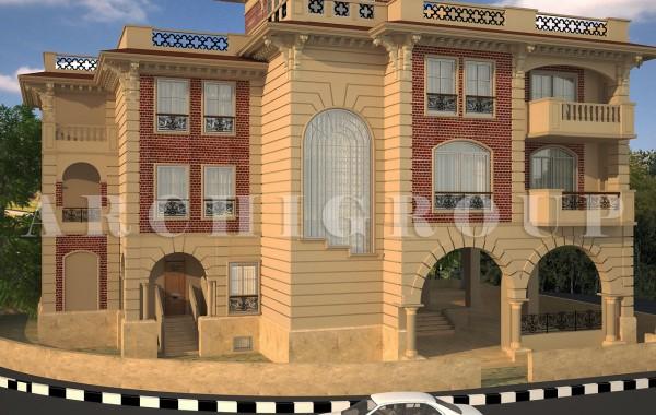 Villa in 1st compound-New Cairo